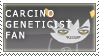 carcinoGeneticist Fan Stamp by RyujiDicey