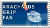 arachnidsGrip Fan Stamp by RyujiDicey