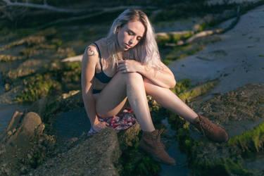 Alex on a Forgotten Beach no. 2 by MojoKiss