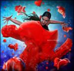 Spanish Dancer by Mohd-Fantasia
