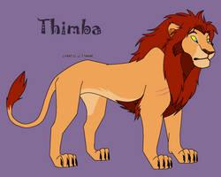 Thimba - Tyrant King-Regent by ReddRedPanda