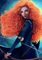 Brave Merida Fanart by DearFellowArtist