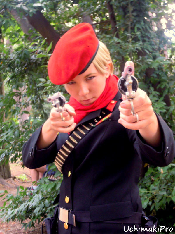 Young Revolver Ocelot Cosplay By Uchimakipro On Deviantart