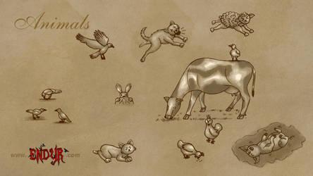 Endyr Animals HD by Yhoko