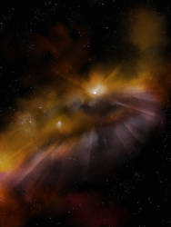 Ocular Nebula by Yhoko