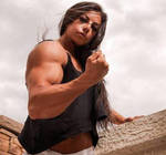 Erika Guerra Muscled by Turbo99