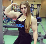 Julia Vins super biceps by Turbo99