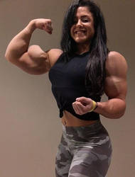 Shay Niessen Muscled by Turbo99