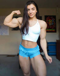 Tessa Barresi Biceps by Turbo99