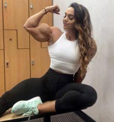 Nadia Amy Sexy Biceps by Turbo99