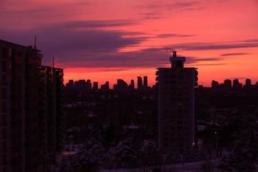Post-Storm Toronto by Stirk-Bostaurus