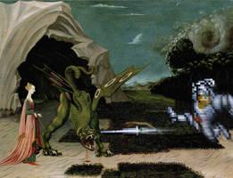 Sir Arthur et le Dragon by bdomenech