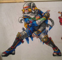 Hyrule Warriors Sheik Ironed by VV-Weegee