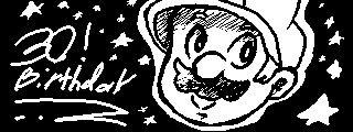 Mario's 30th Anniversary (Miiverse) by ArtisterMan