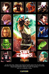 Star Gladiator  Poster by tonytorrid