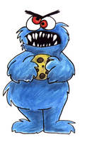 Cookie MONSTER by Zili