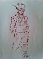 Sketches - Kakashi by jack0001