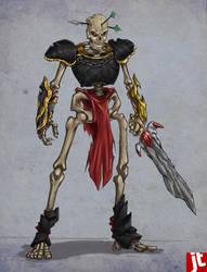 Skeleton Warrior by jack0001