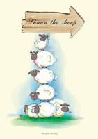 Shaun The Sheep by meomap217
