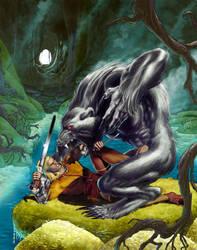 Dragonero #23 by GiuseppeMatteoni