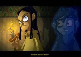 Spooky night by Javas