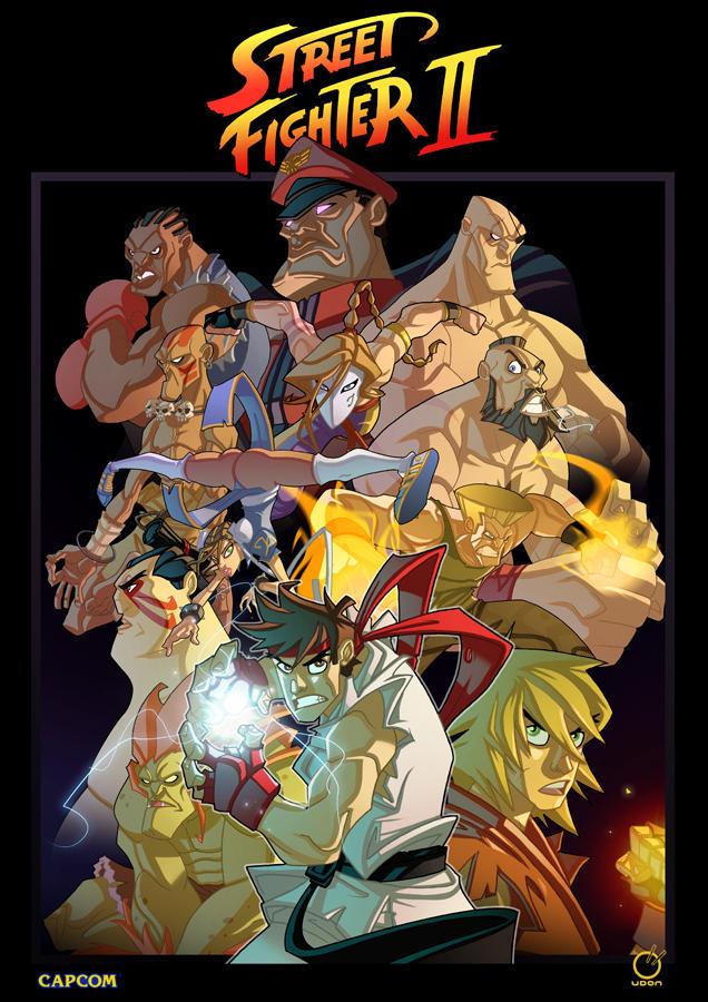 Street Fighter Tribute by Javas