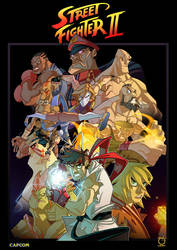Street Fighter Tribute by Javas