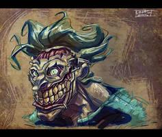 Joker Sketch by Javas