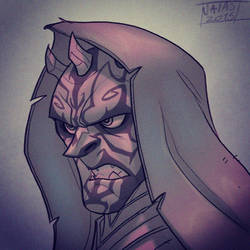 Darth Maul Sketch by Javas