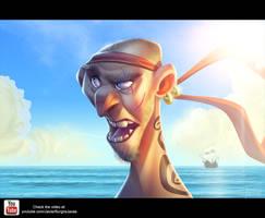 Pirate Speedpainting by Javas