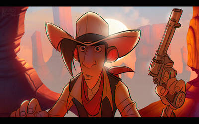 Lucky Luke by Javas