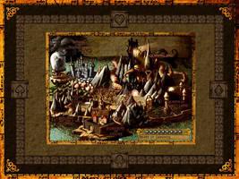Alices Wonderland Map by devillo