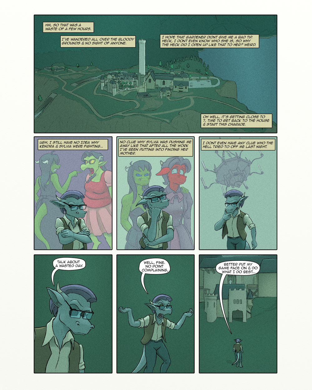 Heirs to the Throne - 37 by devillo