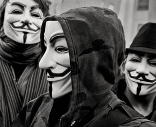 Anonymous times three by solarider