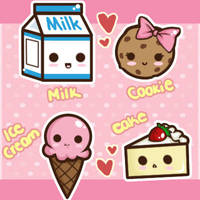 Cute Sweets by Tsubaki-Akia
