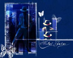 MJ wall by AlexSpooky
