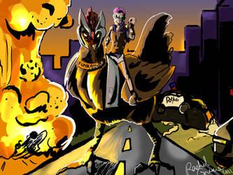 The Funkpolice by Akuya-Kyuubi