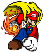Super Mario by Dillo64