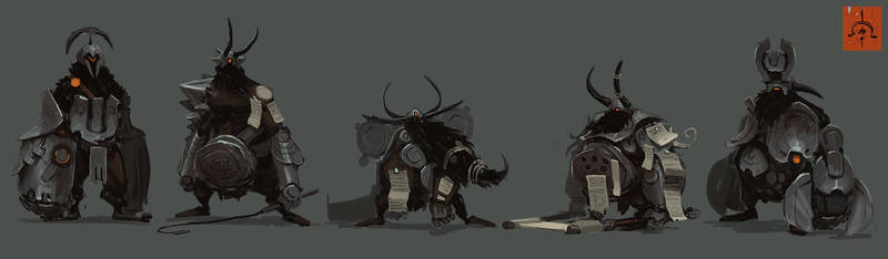 Substrata Dwarves by fightpunch