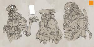 Cyborg Development 3 by fightpunch