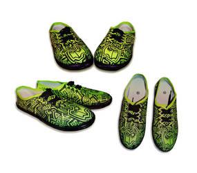 Custom shoes by BerberP