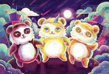 Pandaparty by BerberP