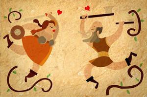 Love in the battelfield by Blaeez