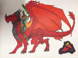 I Am the Dragon-Rider by MonokromeRain