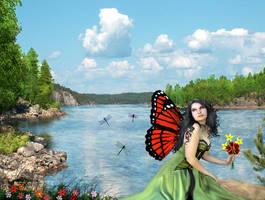 Summer Fairy by AriandraRayne