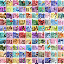 100 Animated Heroine Patches by Street-Angel