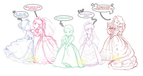 Wedding Dress Debate by Street-Angel