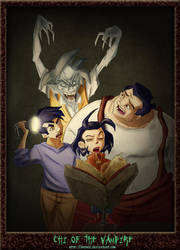 Jackie Chan-Chi of the Vampire by DonPapi