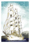 Fragata Libertad by rociocrush