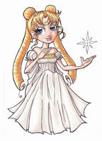 Princess Serenity Chibi by punkydumplin